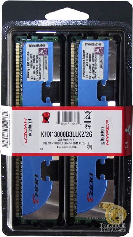Kingston DDR3 PC3-13000